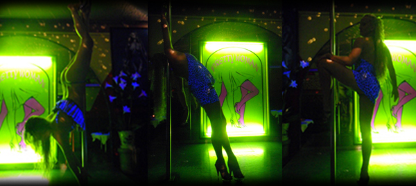 Velvet club dancing barre fille